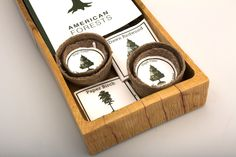 American Forests by Kevin DeBoer, via Behance