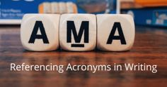 Referencing Acronyms In Writing And Why It's Important