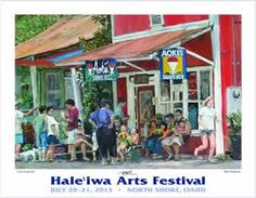 Monica's Blog: Haleiwa Arts Festival 2013! What a GORGEOUS Weekend on Oahu's North Shore!!!!