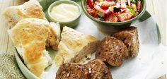 Turks gehakt met frisse salade