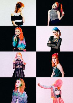 Hayley is beautiful no matter what color her hair is, what crazy outfit she wears or what she sings like. She is genuine.