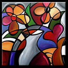 Artist's Portfolio of Thomas C. Fedro - Thumbnails for art in gallery 'Cubist' - Page 2 Cubism Art, Modern Pop Art, Halloween Painting, Artist Portfolio, Arte Pop, Art Pictures, Diy Art, Flower Art, Art Drawings