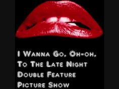 The Rocky Horror Picture Show (Science Fiction, Double Feature) - Opening Sequence Remake. - YouTube