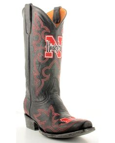 Nebraska western boots | Found on countryoutfitter.com....for my NU friends!!!!