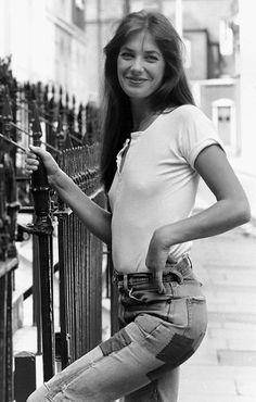 Jane Birkin #denim #adelineloves #adelinewoman #stylecrush