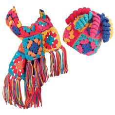 Alex Toys Granny Squares Crochet Kit-