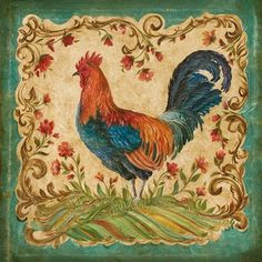 Картинки по запросу новогодние петушки рисунок