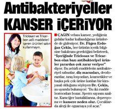 Dermatoloji Uzmanı Dr. Fügen Erdoğan Çekin; antibakteriyel ürünlerin yarardan çok zarar verdiğini söylüyor! #VerdeSağlık #antibakteriyel