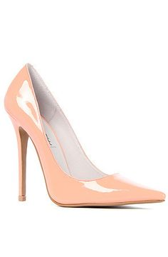 Jeffrey Campbell Heel Darling in Peach