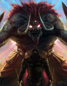 Beast by Brakkenimation.deviantart.com on @deviantART