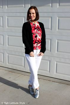 #40 #50 outfit for casual Friday with two cardigans | High Latitude Style | http://www.highlatitudestyle.com