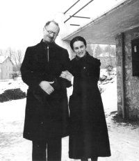 Pastor Andre Trocme and his wife Magda.  Trocme and his parishioners in the small village of Le Chambon, France, quietly but heroically offered safe haven to Jews and other people at risk during the Nazi occupation of France in 1940-1944.