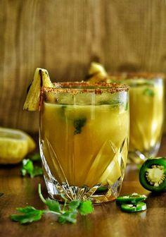 Grilled Pineapple Jalapeño Mocktail