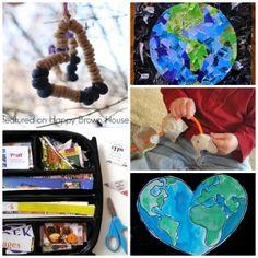 10 Earth Day Fine Motor Skills Activities