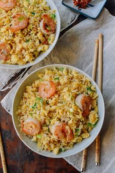 Ginger Garlic Shrimp Fried Rice a deliciously simple yet aromatic dish. Simple This Ginger Garlic Shrimp fried rice recipe is for garlic and ginger lovers!