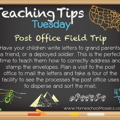 Teaching Tip Tuesday: Post Office Field Trip