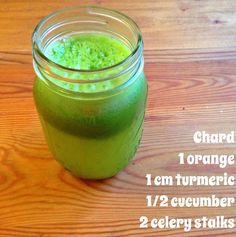 Green juice to start the day right