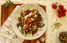 Mi legyen az ebéd a hétvégén? Greek Chicken, Bologna, Bruschetta, Feta, Recipies, Lunch, Ethnic Recipes, Outfit, Recipes