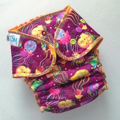 Jumping Jellies One Size Hybrid Fitted Ready to ship! :: The Sassy Monkey Online Shop
