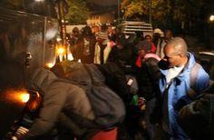 France. Rhône : les migrants manifestent pour se plaindre de la qualité de la nourriture