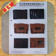 Brilhante e de alta qualidade calças de couro rótulo-imagem-Etiquetas de tecido para roupas-ID do produto:60274355594-portuguese.alibaba.com