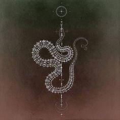 Serpiente Cosmica - Kris Davidson Sacred Geometry