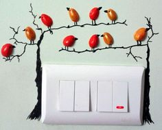 Idea para cuadro, con cáscaras de pistachos