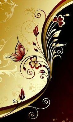 Swirl Mix – About Graphic Design Black Wallpaper, Wallpaper Backgrounds, Cellphone Wallpaper, Iphone Wallpaper, Poster Design, Graphic Design, Butterfly Wallpaper, Fractal Art, Wall Design
