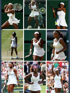 Serena Williams' Wimbledon looks. Via @iAmNELLEZ_