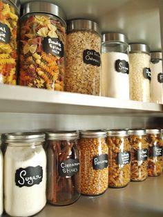 New Kitchen Pantry Organization Ideas Mason Jars Ideas Kitchen Organization Pantry, Kitchen Pantry, Diy Organization, Diy Kitchen, Kitchen Decor, Pantry Ideas, Kitchen Hacks, Kitchen Ideas, Kitchen Storage