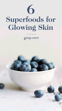 6 Superfoods for beautiful and glowing skin       #glowingskin #skincare http://ncnskincare.com/