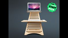 Elevate makes it possible to use any existing desktop or table surface as a standing desk surface for your laptop.