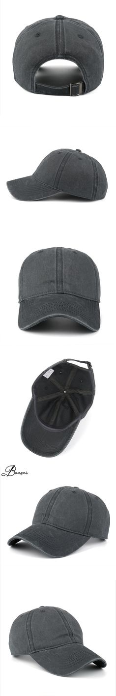 High quality Washed Cotton Adjustable Solid Color Baseball Cap Unisex Couple Cap Fashion Leisure Casual Hip Hop Hat Snapback Cap