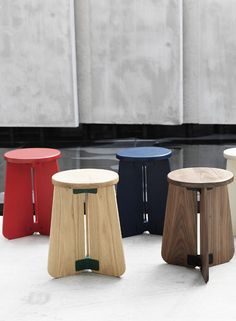Industry+ with VW+BS for the first time at London Design Festival - Clover Stool at designjunction