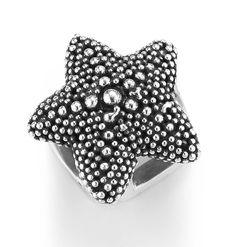 """Mini Starfish"" slide charm -Lori Bonn Design -Bonn Bons"