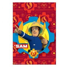 Party Supplies 8 X Fireman Sam Loot Bags Party Bags Favours Fireman Sam Party Supplies & Garden