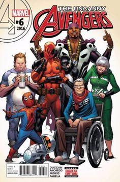 Uncanny Avengers #6 Marvel Comics (2016)