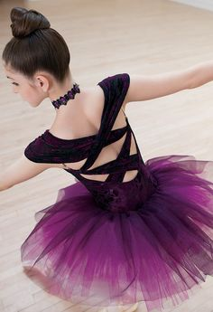 Weissman™ | Velvet Floral Burn-Out Ballet Tutu
