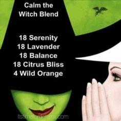 Calm down blend