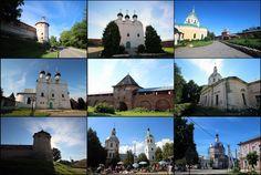 Кремль в Зарайске. И немного город.