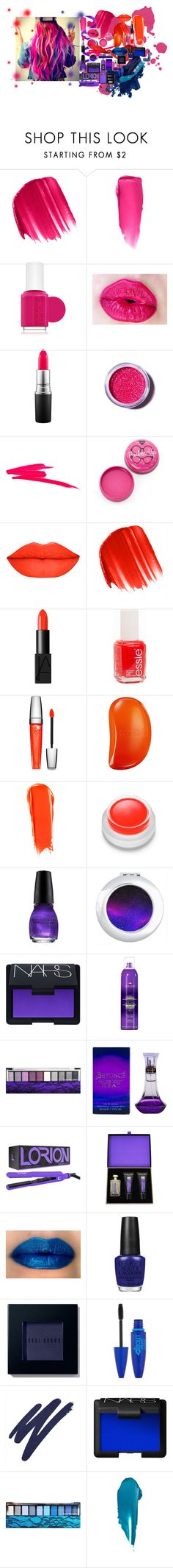 """""""Colors"""" by katiecutie31 on Polyvore featuring beauty, Urban Decay, NYX, Essie, MAC Cosmetics, Lime Crime, NARS Cosmetics, Lancôme, Tangle Teezer and rms beauty"""