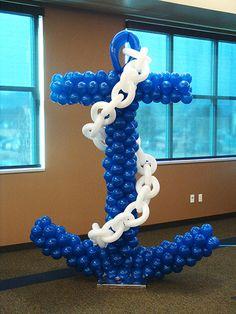 Coolest balloon anchor ever?