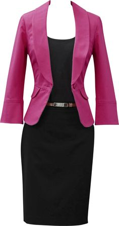 Every powerful career woman needs her power suit! The #CAbi Power Pink Blazer is just the finishing touch to a classic ensemble!