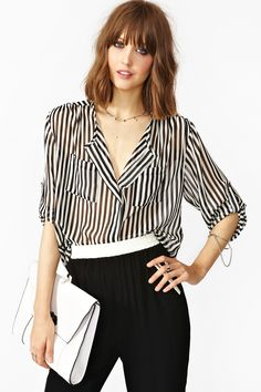 Next In Line Blouse