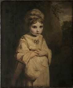 Joshua Reynolds, The Strawberry Girl, 1772 - 1773 © The Wallace Collection