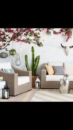 Southwestern inspired patio furniture //