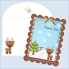 Thank You Cards ~ Free Printables | Organizing Homelife