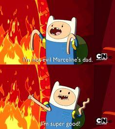 Adventure Time Finn quote