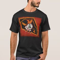 Nez Perce Indians Flag T-Shirt Tribe Native American Indigenous seal