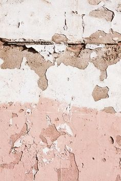 As designers, we pull inspiration from everything around us. This rustic image of paint peeling off concrete inspires me to bring more texture into my projects at Studio Native.